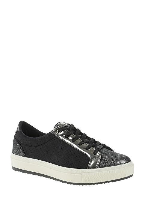 Divarese Bağcıklı Sneakers Ayakkabı Siyah